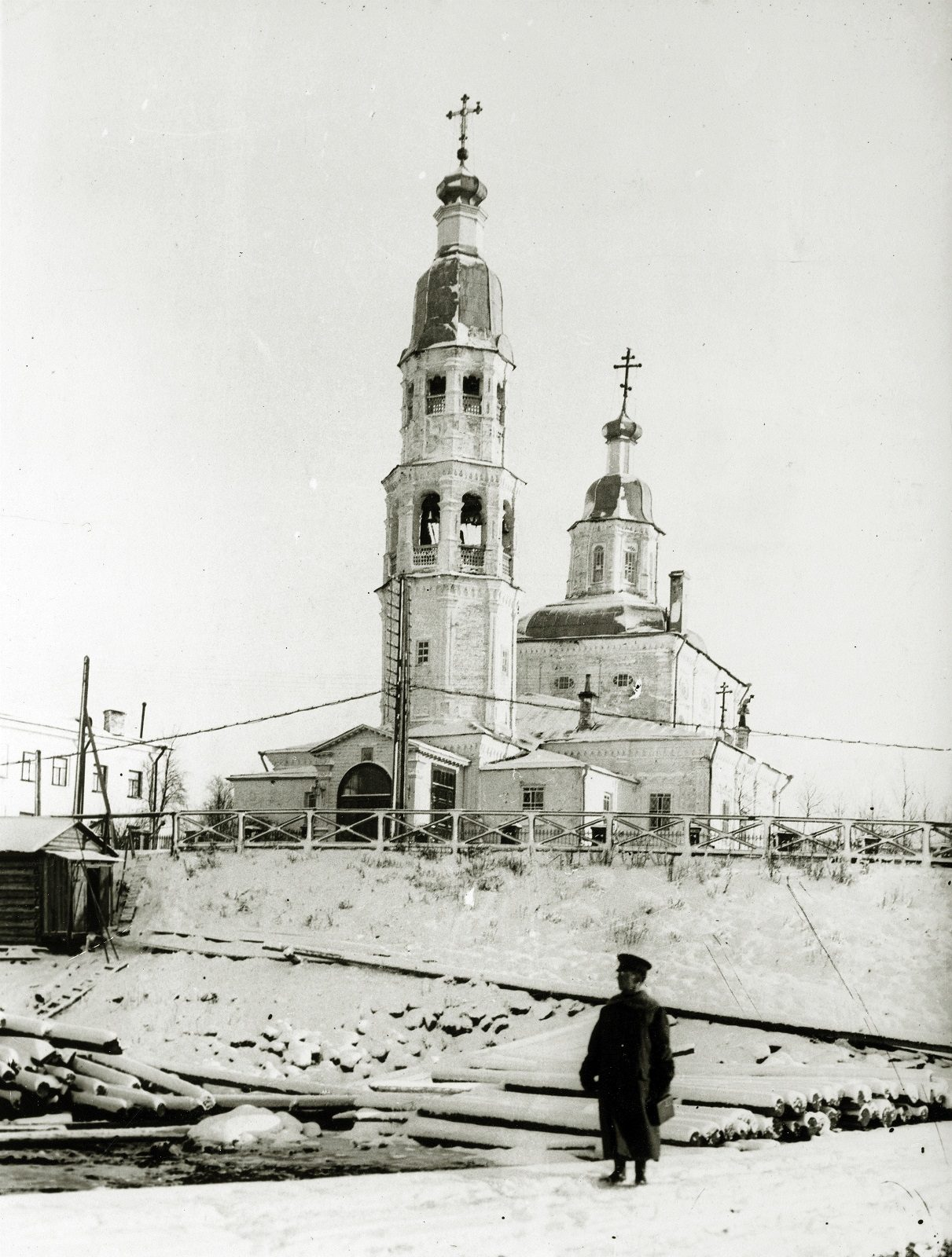 Foreign soldier. Arkhangelsk during revolution and civil war 1918-1919