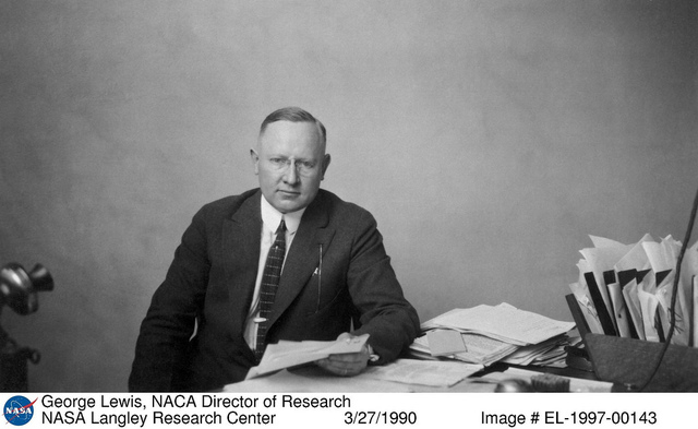 George Lewis, NACA Director of Research