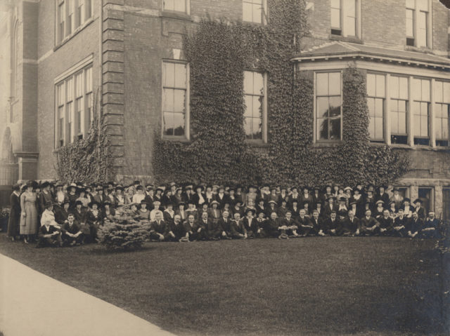 Huron County Public School Teachers' Convention, Goderich, Ontario, 1919