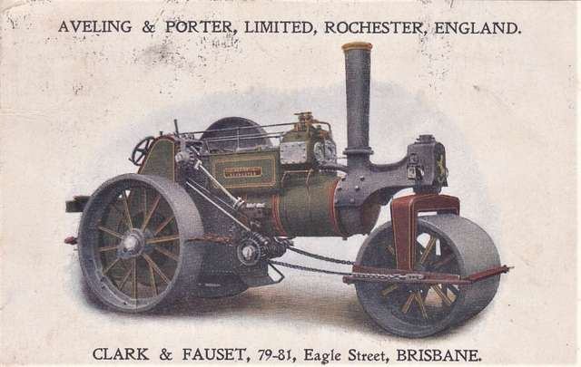 Machinery by Aveling & Porter Limited, Rochester, England - 1919