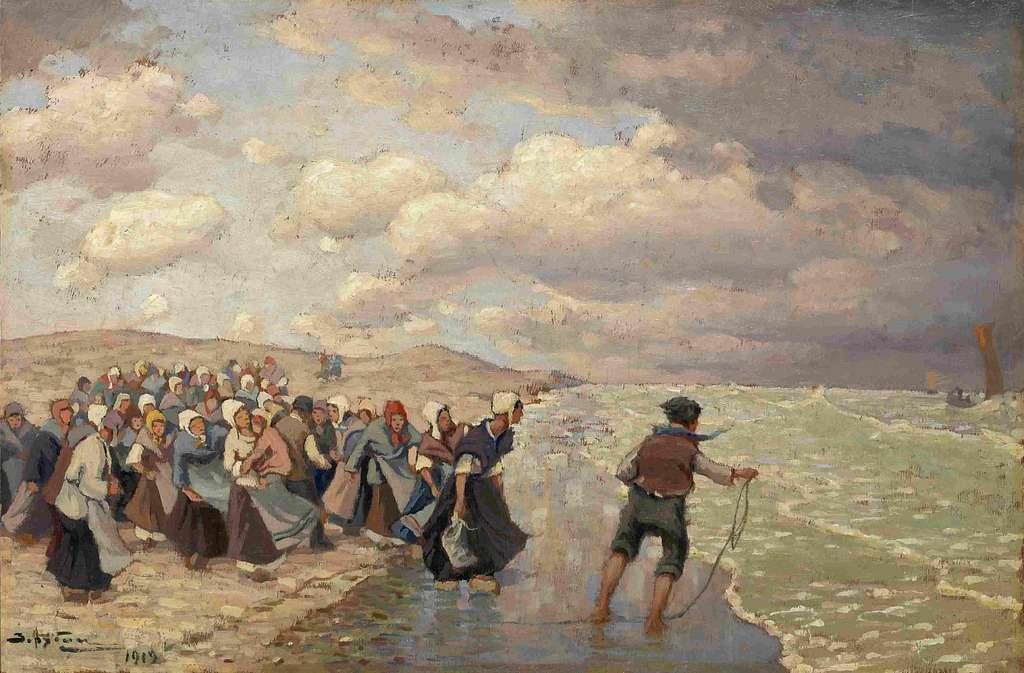 Виктор И. Зарубин - Жены рыбаков (1919)