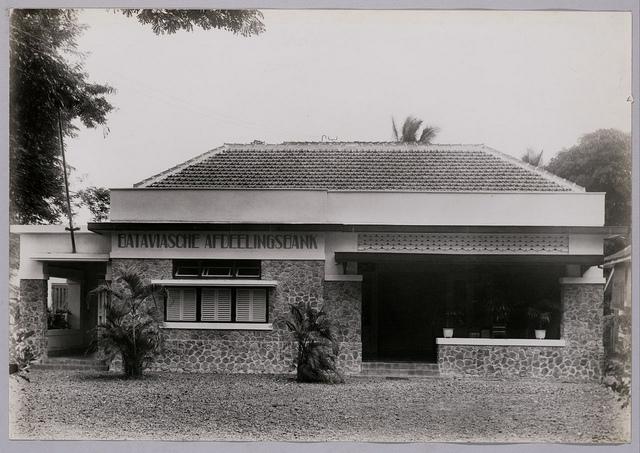 Bataviasche Afdelings Bank | Batavia Bank