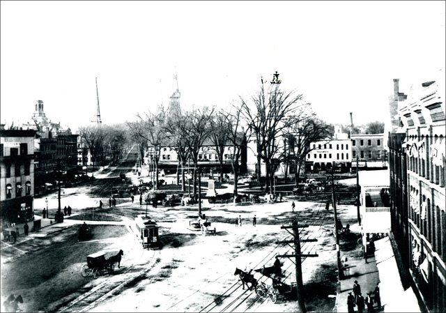 Central Square in Keene New Hampshire