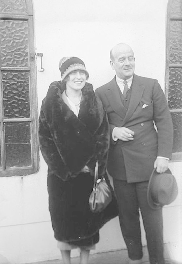 Grand Duke Boris Vladimirovich and Zinaida Rashevskaya.