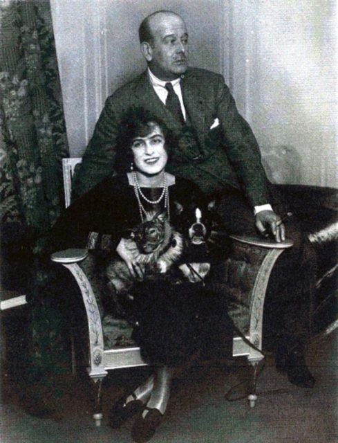 Grand Duke Boris Vladimirovich and Zinaida Rashevskaya.