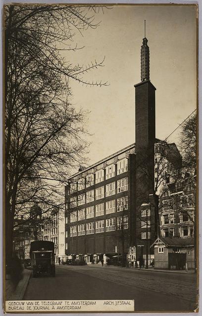 Kantoorgebouw De Telegraaf | De Telegraaf Office building