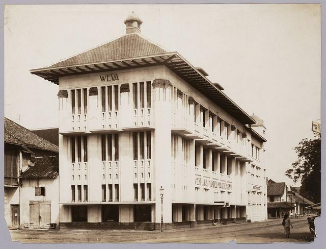 Kantoorgebouw West-Java Handelmaatschappij | West-Java Trading Company