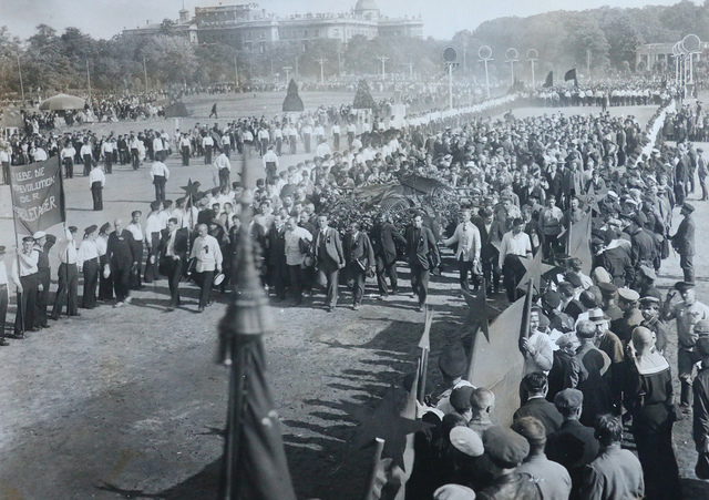 Procession on the Field of Mars, Petrograd [17th July 1920]