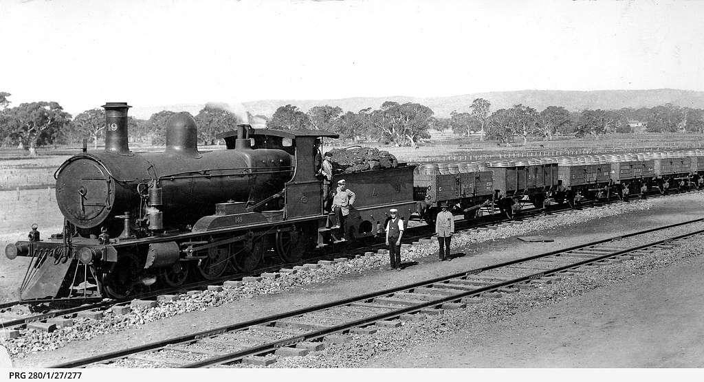South Australian Railways Rx 149, McLaren Vale, South Australia, 1920