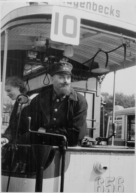 Tram driver i Copenhagen