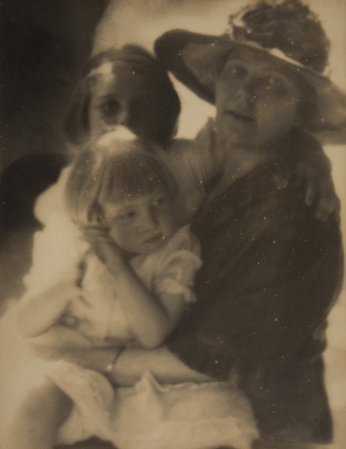 Mrs. G. Gaylord Watson (May V. Landis) and daughters (E.V. Watson & M.W. Sevaly)