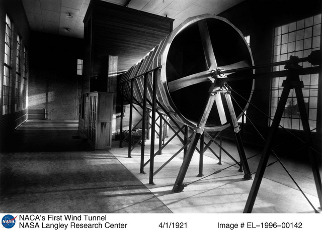 The NACA's First Wind Tunnel
