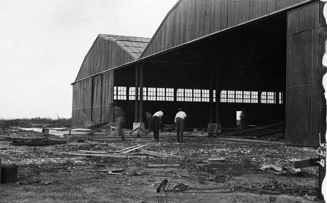 Hangar construction