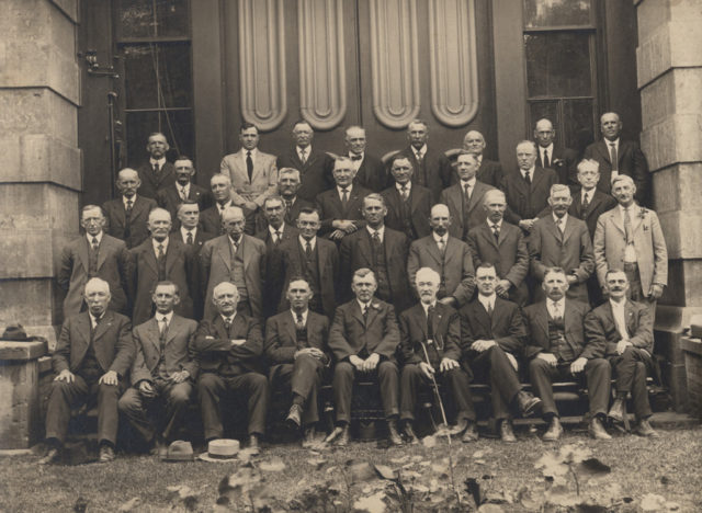 Huron County Council, 1922