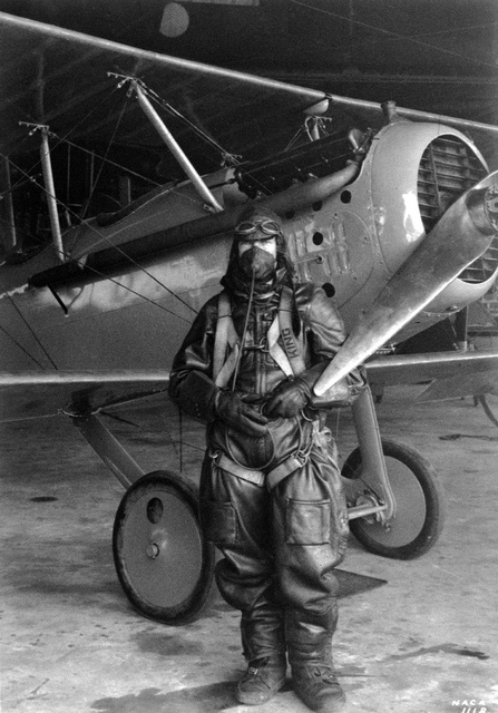 Paul King and the Vought VE-7