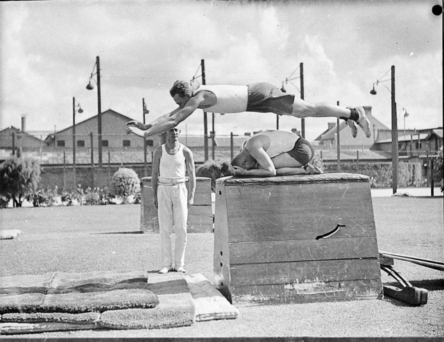 Police Carnival, between 1925-1955 / photographer Sam Hood