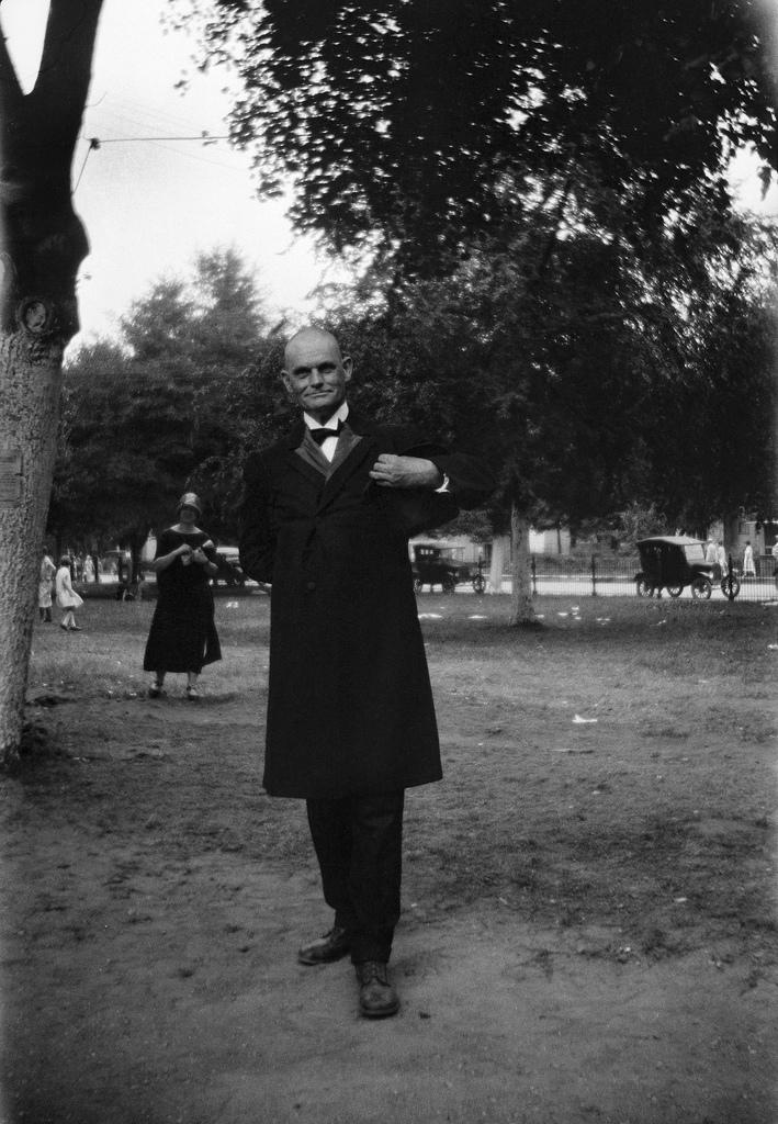 Unidentified man, Dayton, Tennessee, July 1925.