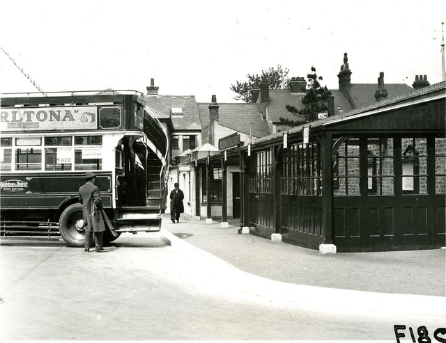Double-decker bus  in Maidstone