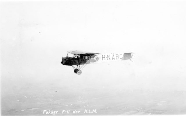 Fokker F.II H-NABC in flight