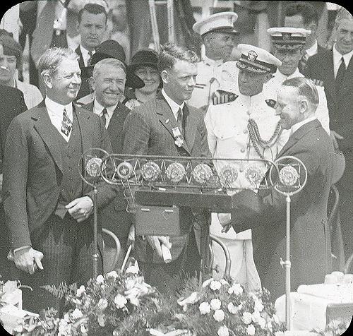 Lindbergh and Coolidge