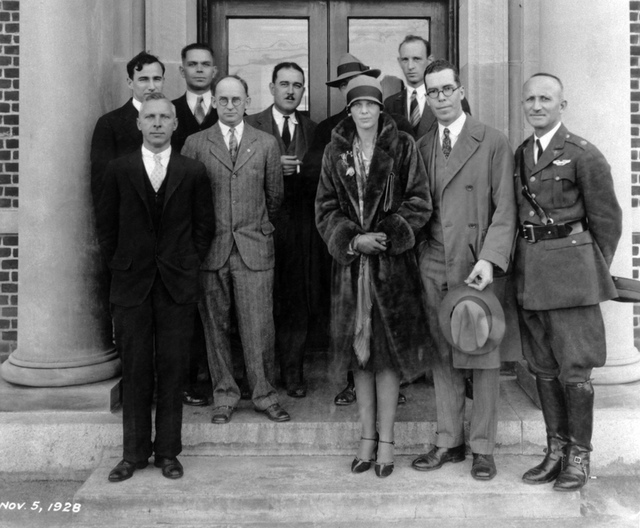 Amelia Earhart Visits NACA (And Gets Her Coat Caught in a Wind Tunnel!)