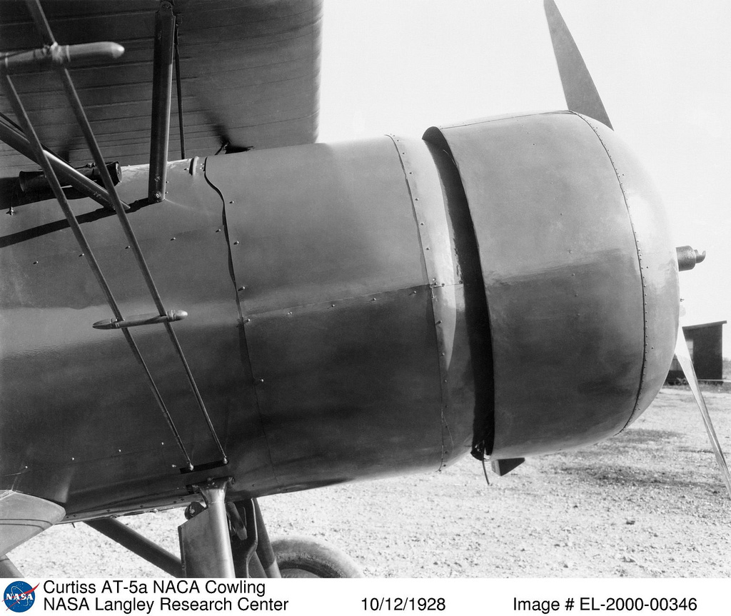 Curtiss AT-5a with NACA Cowling
