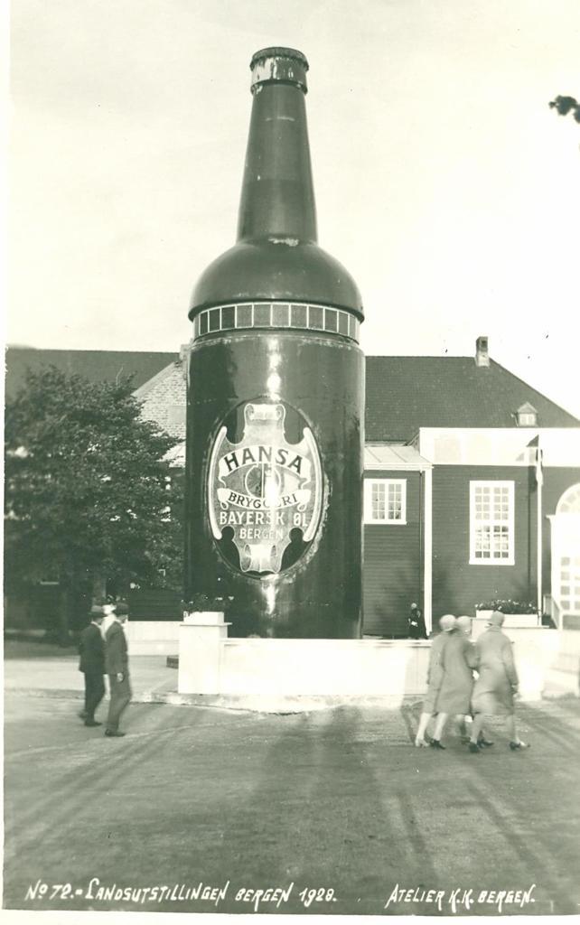 The Hansa bottle