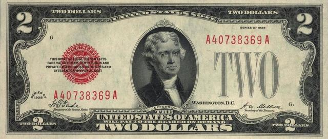 Two Dollars 1928
