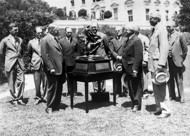 Collier Trophy presentation 1929