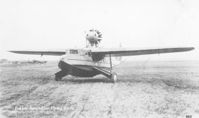 Fokker America F.11 Flying Yacht 1929