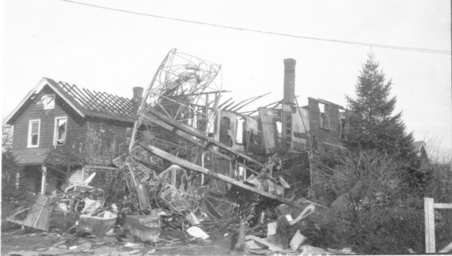 Aircraft crash site - Franz Schell Album Image