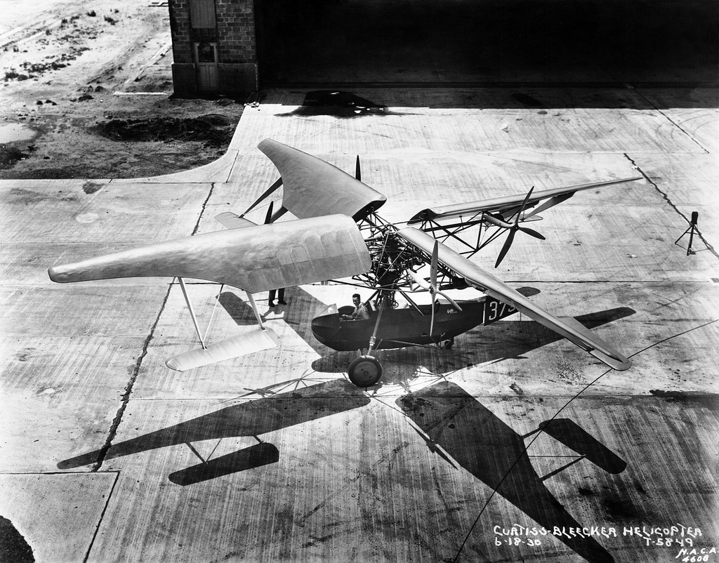 Curtiss Bleeker Helicopter