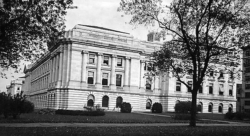 Exterior view of the Department of Agriculture