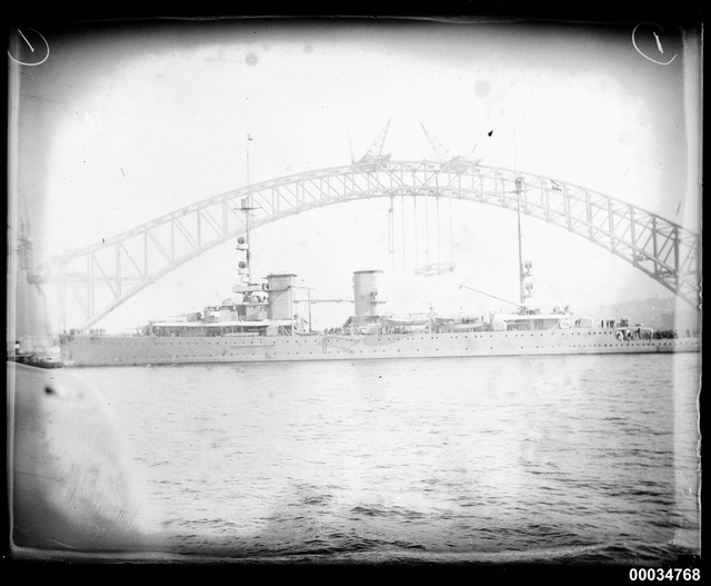 HNLMS JAVA entering Sydney Cove, 3 October 1930