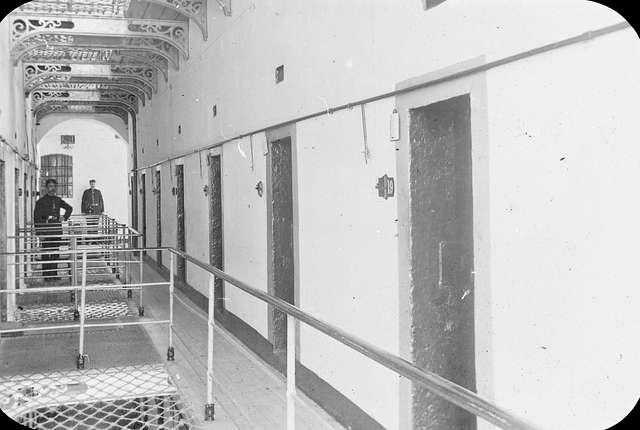 Informers Corridor, Kilmainham Jail.