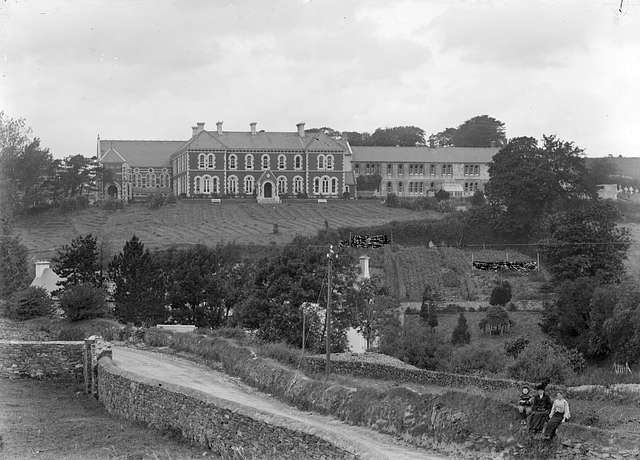 """""""Institutional style building in an unknown location"""" is a convent in Bantry"""