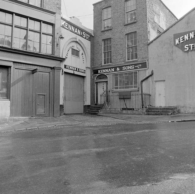 Kennan & Sons Ltd., Iron works, Fishamble Street, Dublin