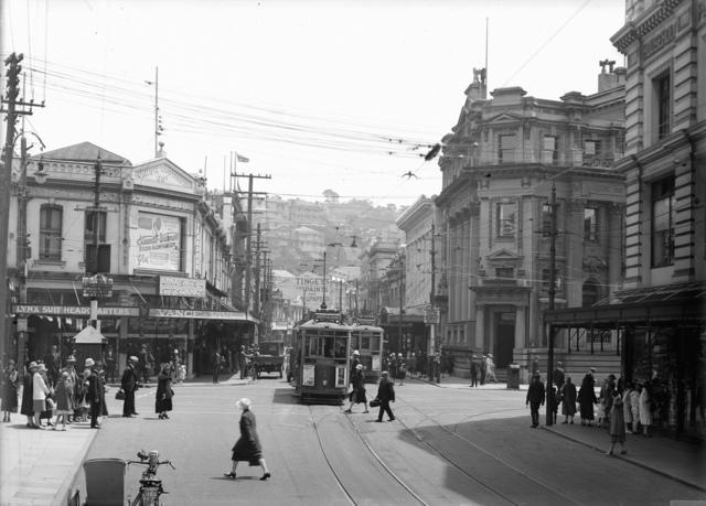 Manners Street, Wellington, [ca 1930]