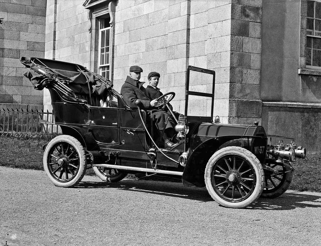Mr. Peare, Catherine Street, Waterford, motor car