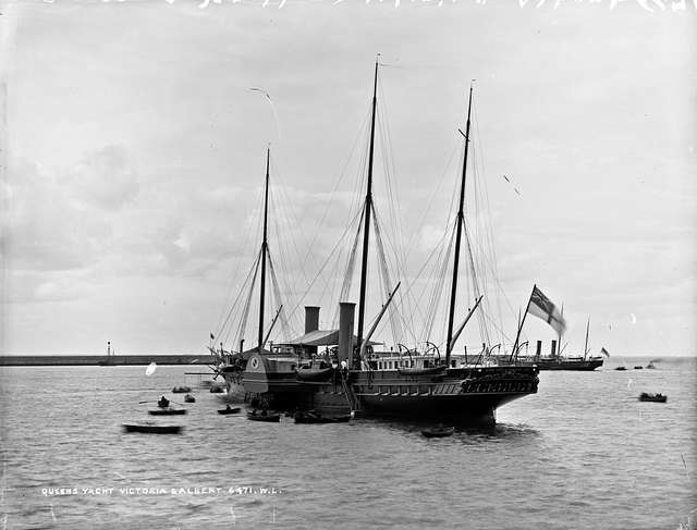 The Queen's Yacht but not in Queenstown?