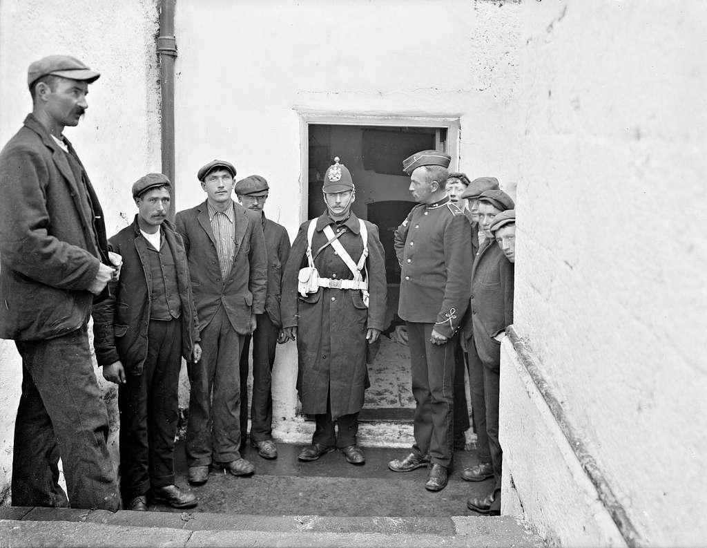 Waiting at the barracks door - the Waterford Militia