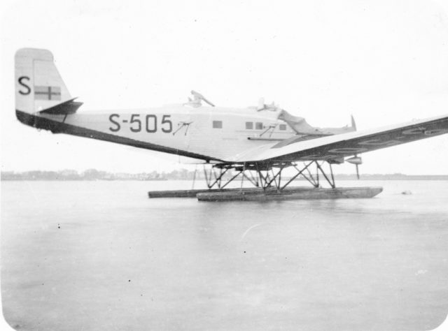 Junkers G-23 S-505 Swedish Air Force
