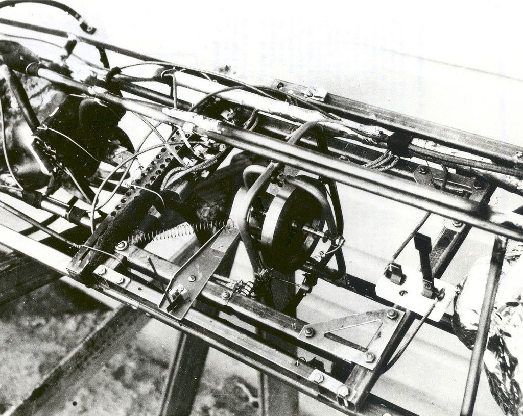 Close-up of Gyroscope for Goddard's Rocket