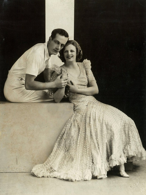 Madge Elliott and Cyril Ritchard, Sydney, ca. 1932 / photographer Falk, for J.C. Williamson's Publicity Dept.