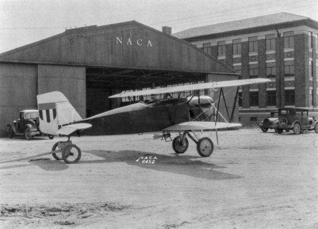 NACA Boeing model 15