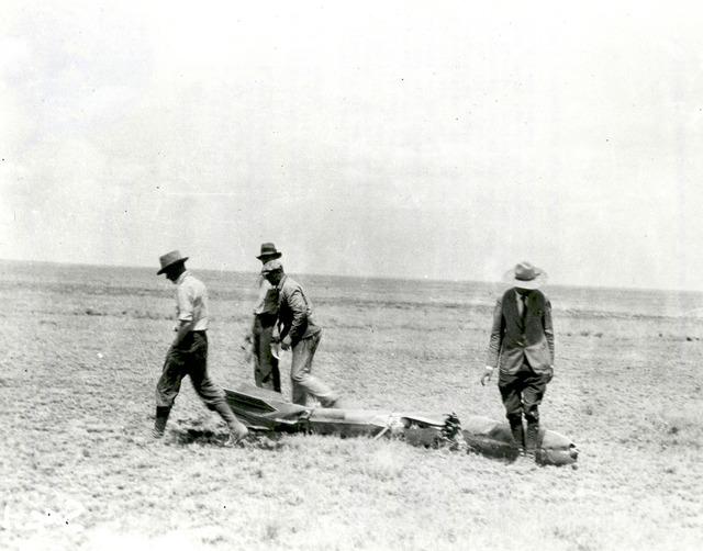 Robert Goddard's Rocket After Flight