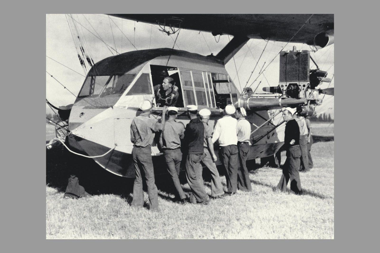 Blimp J-4 Gondola (non-rigid air ship) ARC-1969-A91-0261-31