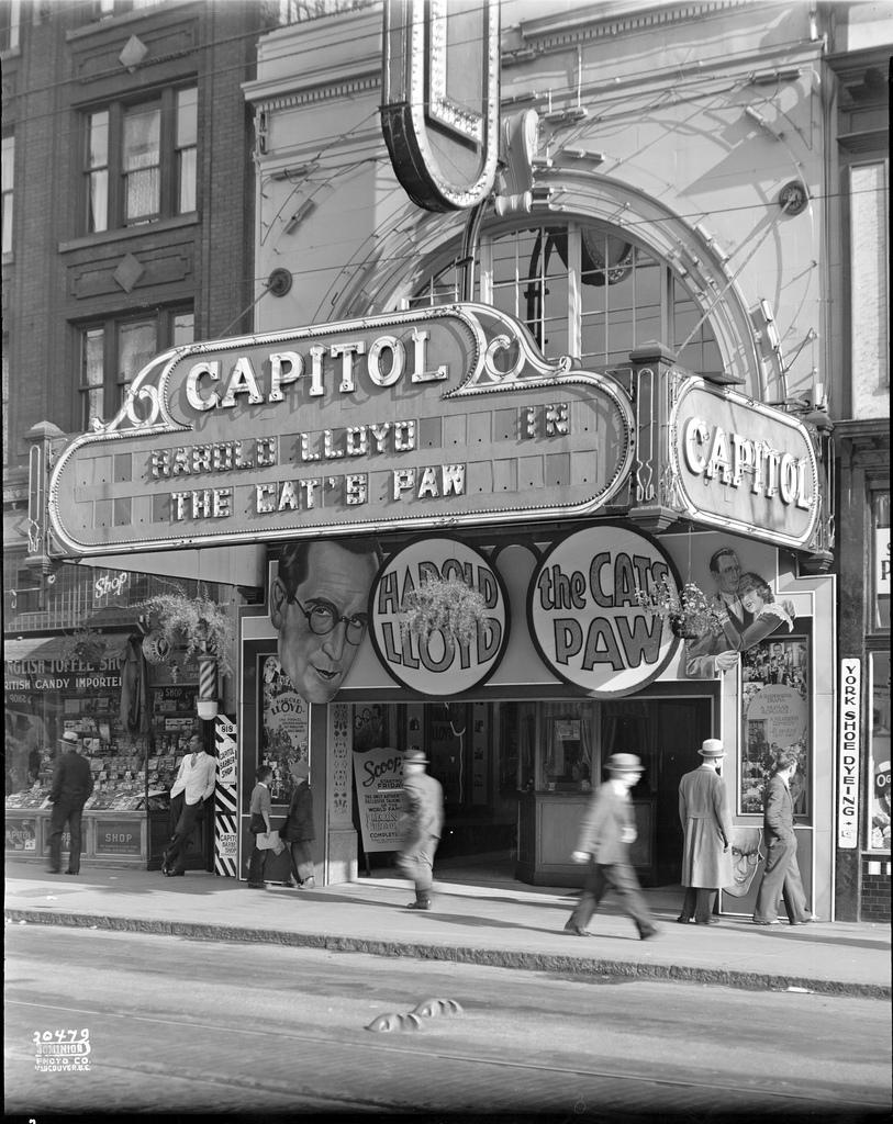 Capitol Theatre VPL_23587 820, Granville Street, Central, Vancouver, British Columbia, Canada
