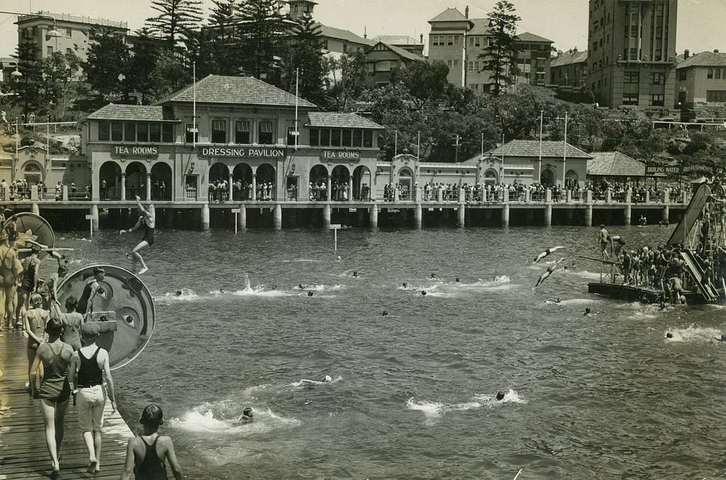 Manly Harbour pool, 193- (6187759696)