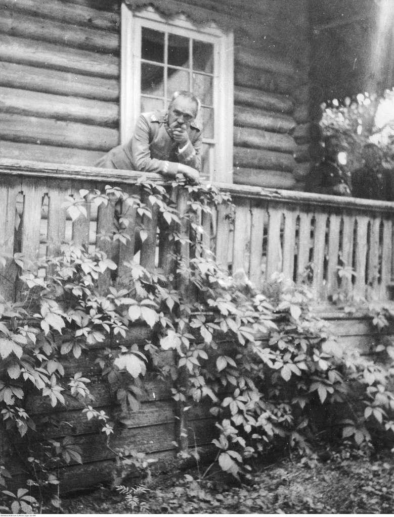 Marszałek Józef Piłsudski u swojej siostry Zofii Kadenacowej (22-344)